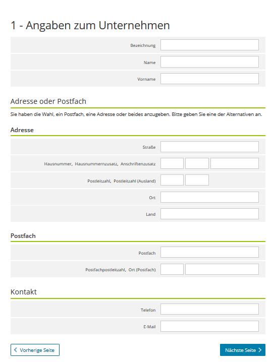 Umsatzsteuervoranmeldung formular 2019